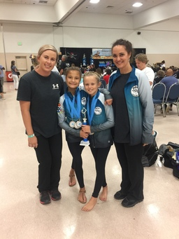 Trio of CIS gymnasts compete in Lakeland, FL