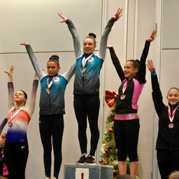 CIS Gymnasts Get the Gold