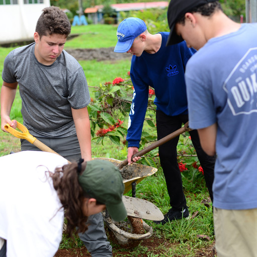 Secondary Students Take Service Trip to Costa Rica