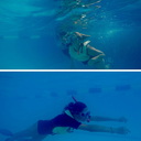 Students Complete PADI Skin Diver Course
