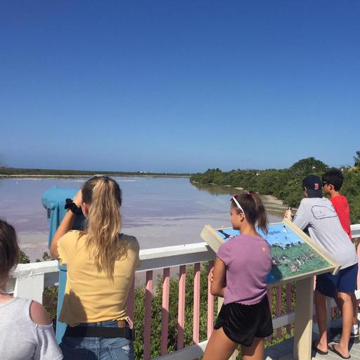 Seventh Graders Explore Little Cayman