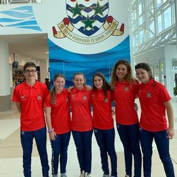 Students Represent Cayman in Carifta